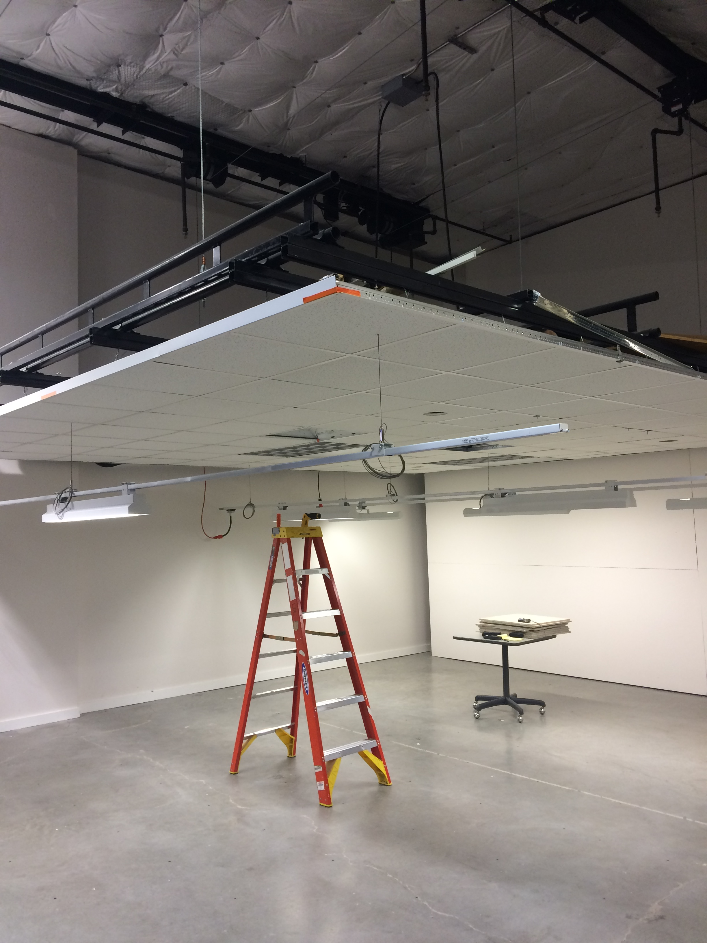 ... Washington Lighting Design Lab Retractable Ceiling in Seattle ... & Gallery | Lighting Design Lab