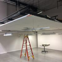 Lighting Design Lab Retractable Ceiling in Seattle, Washington