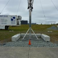 Outdoor Streetlight Testing Installation, South Seattle Community College